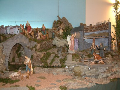 L'Agrupació Pessebristes de Ripollet inaugura la seva 29a exposició.