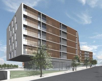 Oberta l'oficina d'informació de la propera promoció de pisos de protecció oficial.