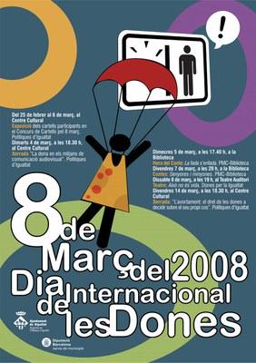 Es convoca el concurs de Cartells del Dia de la Dona.