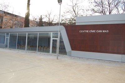 Propera obertura del Centre Cívic de Can Mas al parc del Primer de Maig.