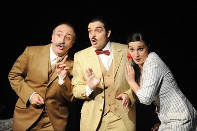 Espectacle sobre sarsuela al Teatre Auditori.