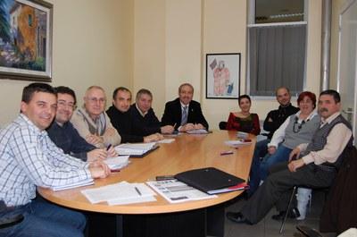 Les executives locals PSC i CiU lloen la cohesió dels dos partits en el govern municipal.