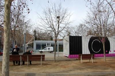 7 de febrer, inauguració del Centre Cívic de Can Mas i de l'exposició 'C+... és això'.