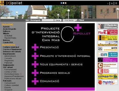 El pla de millora de Can Mas estrena web i revista pròpies.
