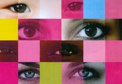 'Mirada de dones', cartell guanyador del Dia Internacional de les Dones 2009.