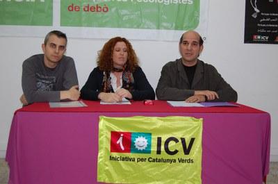 ICV fa campanya a la comarca a favor del TramVallès.