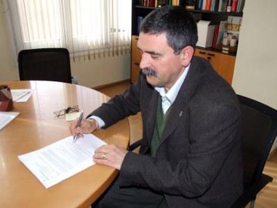 El regidor de Comerç es reuneix amb la UBR.