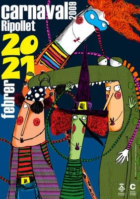 Més de mig miler de persones participaran a la rua de Carnaval 2009.