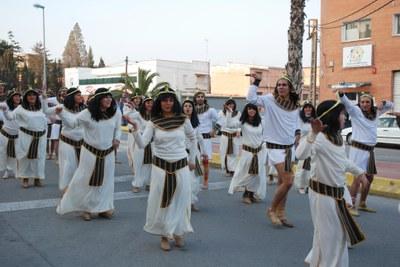 La Corte del Faraón triomfa al concurs de comparses del Carnaval 2009.
