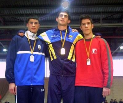 Iván Roguera es classifica pel Campionat d'Espanya de 800 metres.