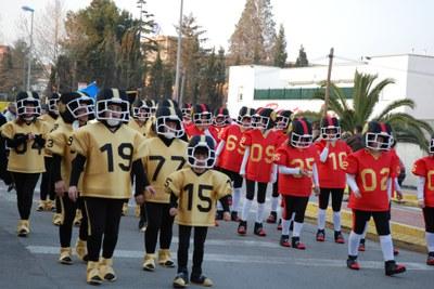 Èxit de participació al Carnaval 2009.