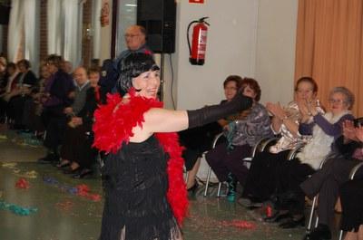 El Casal d'Avis celebra el seu Carnaval 2009.
