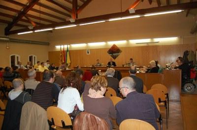 Acords del Ple Municipal del 26 de febrer de 2009.