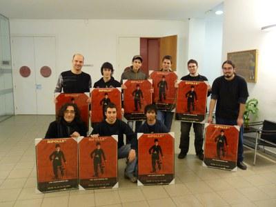 Premis a l'organització del 10è Certamen de Curts de Ripollet.
