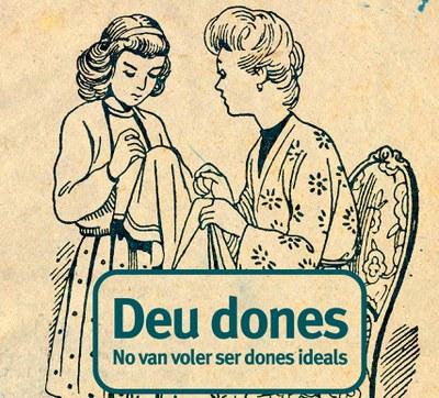 L'Escola d'Adults presenta el llibre 10 dones no van voler ser dones ideals.