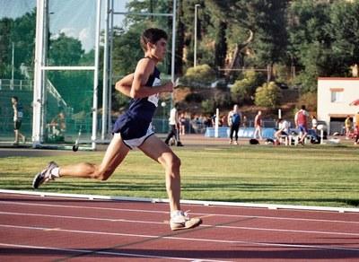 Iván Roguera finalitza 35è al Campionat d'Espanya .