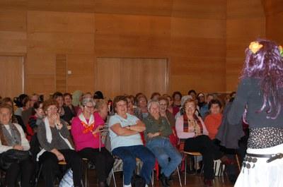 Àmplia participació als actes del Dia Internacional de les Dones.