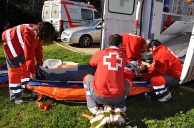 Voluntaris de Creu Roja es preparen per a la nova temporada de serveis i actuacions de prevenció.