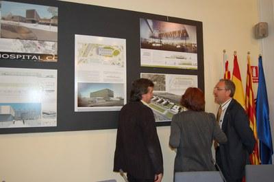 Es presenten els cinc projectes del futur Hospital Ernest Lluch.
