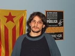 Les CAV donen suport a Tomàs Sayes, en vaga de fam en defensa de l'ensenyament públic.