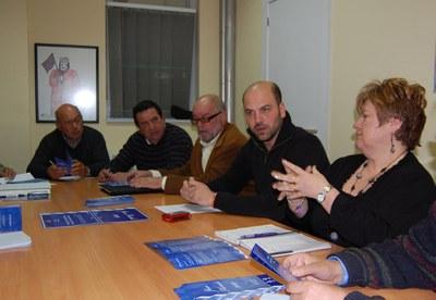 Maragall i Sant Andreu convoquen els Jocs Florals 2009.