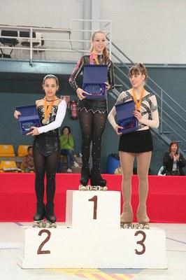 Júlia Figueroa, del CPA Ripollet, guanya el Campionat de Barcelona.