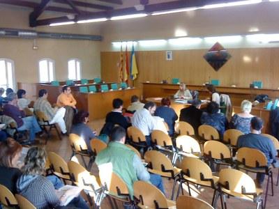 Se celebra una sessió plenària del Consell Escolar.