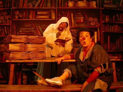 Teatre infantil amb La biblioteca màgica.