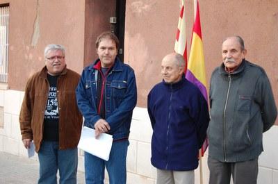 Acte d'homenatge als primers alcaldes democràtics de Ripollet.