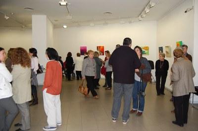 Inaugurada l'exposició 'Ecos', recull dels treballs del Taller d'Art.