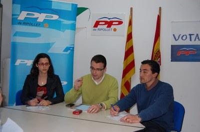 Les NNGG del PP demanen la creació d'un menjador social.