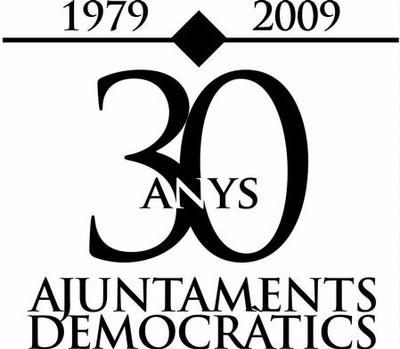 Ripollet, present en diferents activitats de commemoració dels 30 anys d'ajuntaments democràtics.