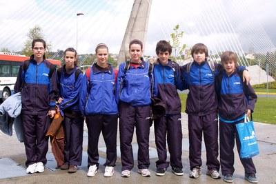 El tennis taula Finques Ripollet Sotscampió d'Espanya Infantil.