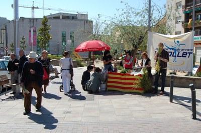 Sant Jordi a Ripollet.