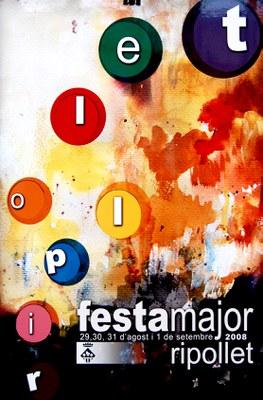 Es fan públiques les bases del concurs de cartells de la Festa Major 2009.