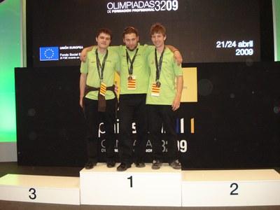 L'IES Palau Ausit participarà al campionat Euroskill 2010.