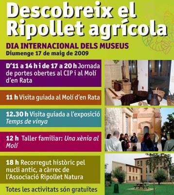 El Centre d'Interpretació del Patrimoni s'adhereix al Dia Internacional dels Museus.