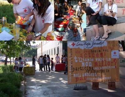 Èxit de participació a la festa solidària de Creu Roja.