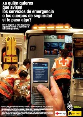 A qui voldries que avisessin els serveis d'emergència i de seguretat si et passés res?.
