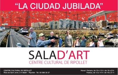 Arriba la mostra 'La ciudad jubilada' al Centre Cultural.