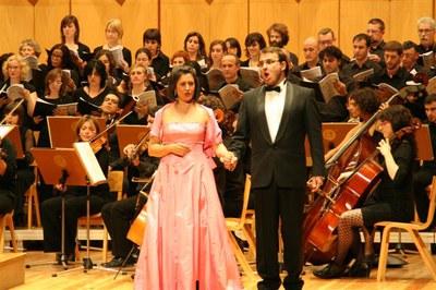 Música lírica al Teatre Auditori.