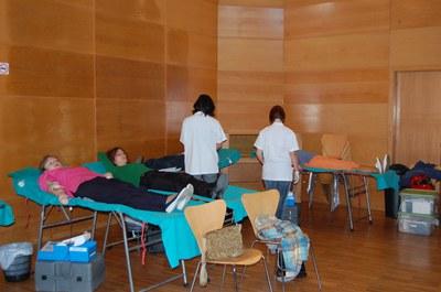 Jornada de donació de sang al Centre Cultural.