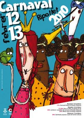 Prop de mig miler de persones participarà a la rua de Carnaval 2010.