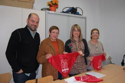 La Colla de Gegants de Ripollet celebra el vintè aniversari acostant la festa als col·legis.