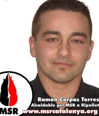 Municipals 2011L'MSR es presentarà a Ripollet amb Ramon Corpas al capdavant.