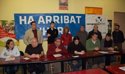 El CpR i les CAV critiquen la gestió dels governs municipals socialistes vers l'Ernest Lluch.