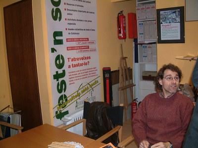 L'Associació d'Espectadors del Teatre del Mercat Vell trasllada la seva seu.