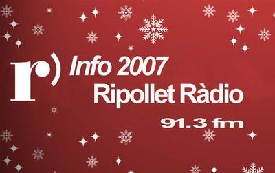 Ripollet Ràdio emet l'INFO 2007.