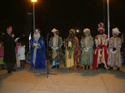 Els Reis Mags d'Orient recullen les cartes dels nens i nenes de Ripollet.