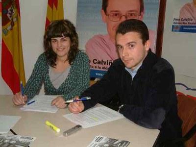 Les Noves Generacions del Partit Popular a Ripollet demanen Wi-Fi per a tot el municipi.